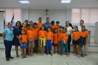 Alunos da Emef Antonio Fernandes visitam a Câmara de Linhares
