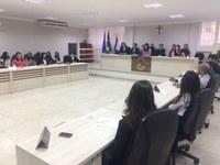 Alunos de Direito da Faceli fazem Sessão simulada na Câmara