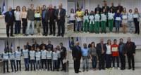 Atletas vencedores de jogos escolares do ES são homenageados pelo vereador Jean Menezes