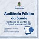 Audiência Pública da Saúde