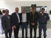 Autoridades municipais de Linhares participam de solenidade de Troca de Comando do Tiro de Guerra