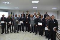 Câmara de Linhares homenageia 50 anos da igreja Maranata