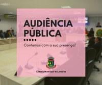 Câmara de Linhares promove audiência pública on-line sobre a LOA 2021