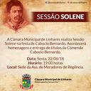 Câmara realiza Sessão Solene na festa centenária de Caboclo Bernardo