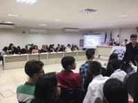 Casa Legislativa recebe eventos estudantis