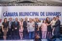 Noite de Solenidade na Câmara Municipal de Linhares