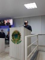 Professor de Educação Física usa a Tribuna em Sessão Ordinária