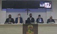 Vereadores participam de forma remota da Sessão