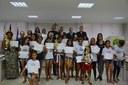Sessão Solene homenageia crianças e adolescentes do CRAS de Linhares