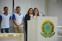 Superintendente Regional de Eduação faz uso da Tribuna Livre para apresentar Escola Viva
