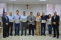 Tarde de homenagens na Câmara Municipal de Linhares