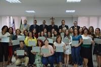 Vereadores homenageiam diretores do município de Linhares