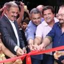 Vereadores participam da reinauguração da Casa Rosa