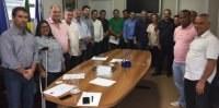 Vereadores participam de reunião com Sindicato dos Servidores Públicos Municipais de Linhares