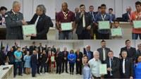 Vereadores prestam homenagens em Sessão Ordinária