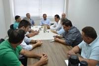 Vereadores se reúnem com secretário de Segurança de Linhares