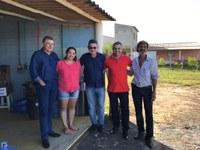 Vereadores visitam comunidade de Barra Seca